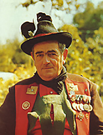 Bezirksmajor Joerg Pircher