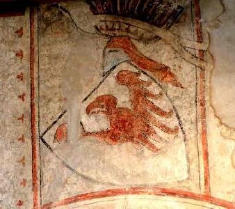 In der Schlosskapelle Tirols befindet sich die älteste farbige Darstellung des Tiroler Adlers.