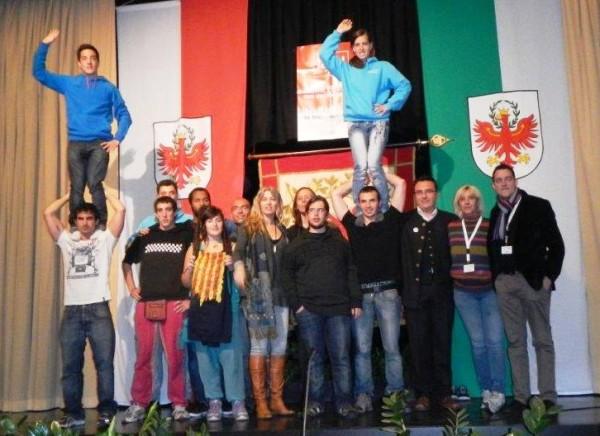 Die Delegation aus Katalonien wurde von Anne Arqué angeführt. Foto: BG-online)