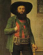 Andreas Hofer, nach einem Gemälde von Franz v. Defregger