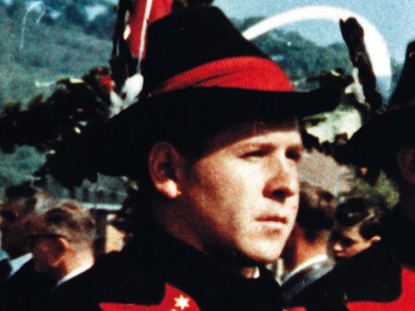 Der Freiheitskämpfer Franz Höfler, der am 23. November 1961 mit nur 28 Jahren an den Folgen der Folterungen im Bozner Gefängnis verstorben ist.