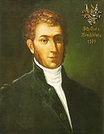 Graf Johann, der letzte Stachelburger, in der zweiten Berg Isel Schlacht gefallen.