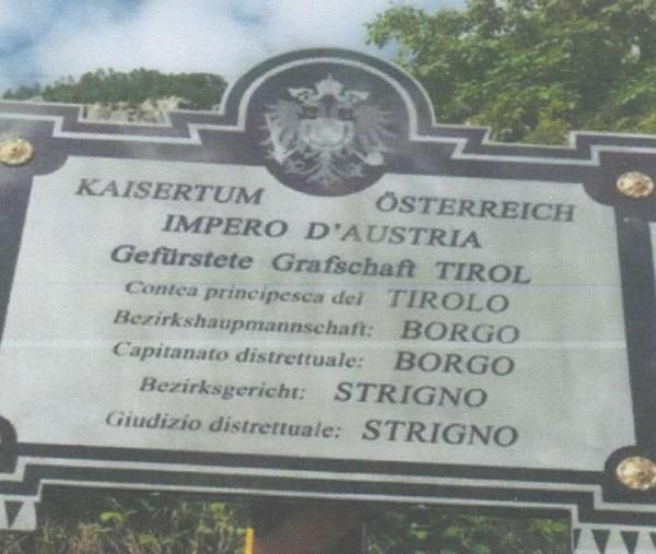 2015_Meran Grigno_SK Meran Enthüllung Grenztafel Österreich Italien Valsugana Welschtirol (6)