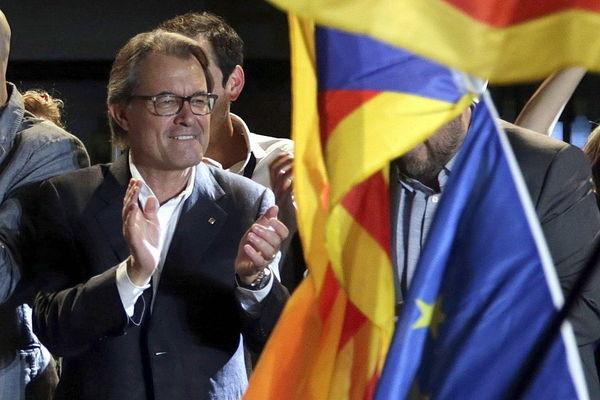 Artur Mas Katalonien 2015