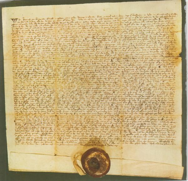 """""""Stadtrecht von Meran von König Heinrich, Graf v. Tirol von 1317"""