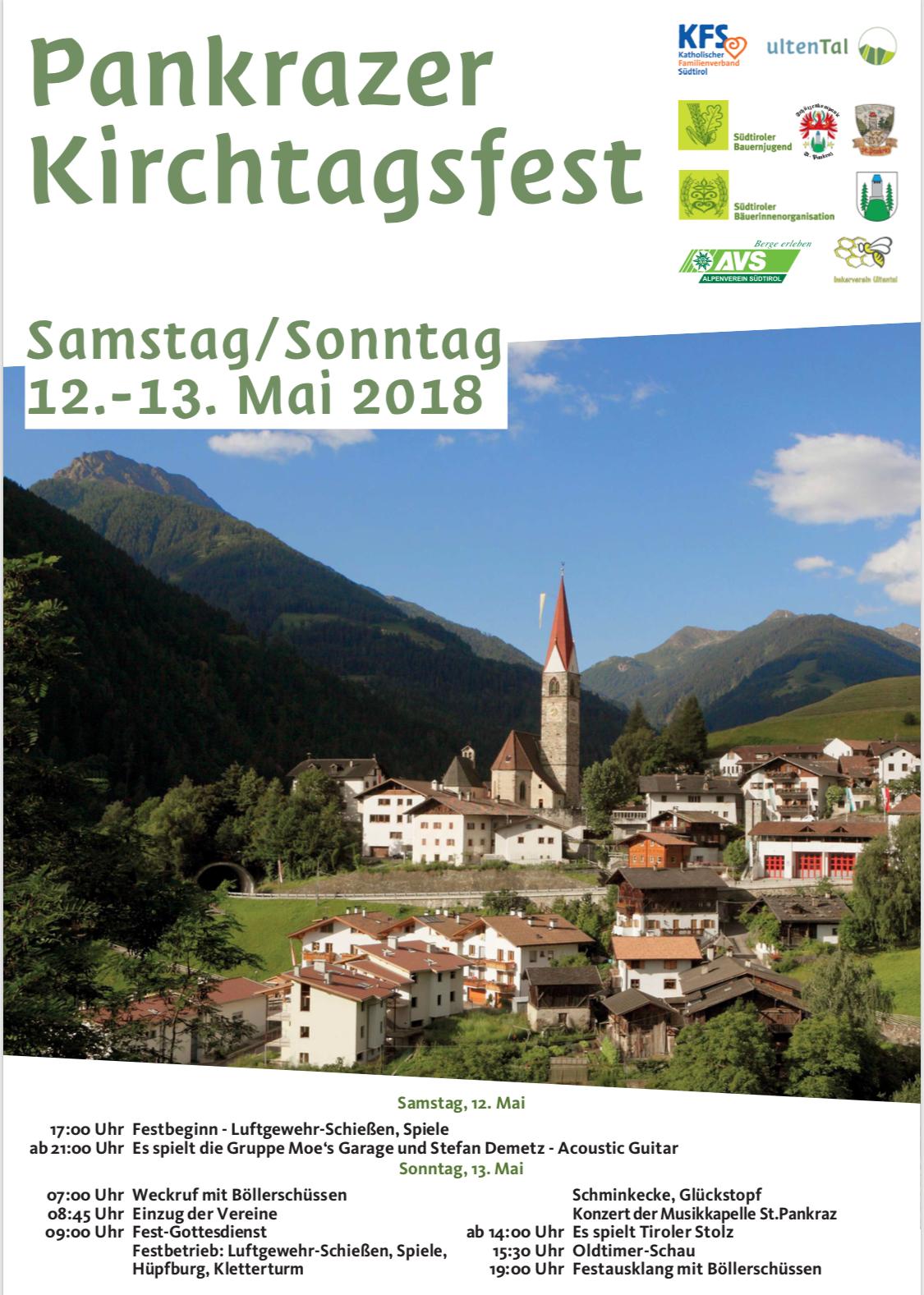 Pankrazer Kirchtag 2018