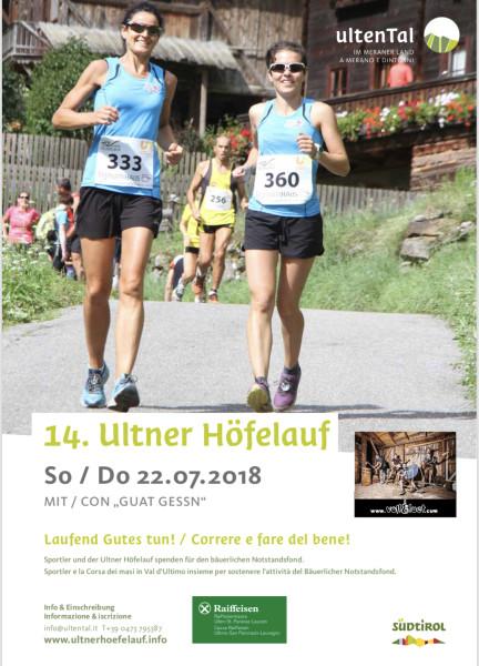 Ultner Höfelauf 2018 - 1