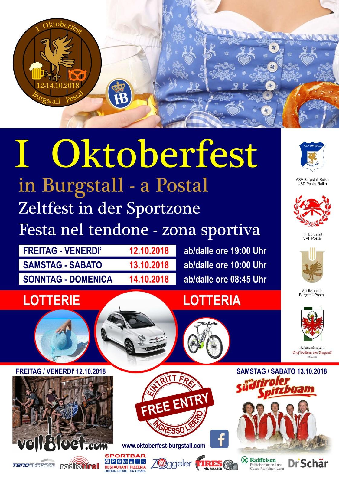 2018_Burgstall_1.Oktoberfest Plakat