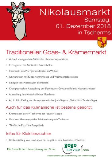 2018_Tscherms_Nikolausmarkt
