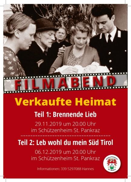 2019 - Einladung Verkaufte Heimat St.Pankraz