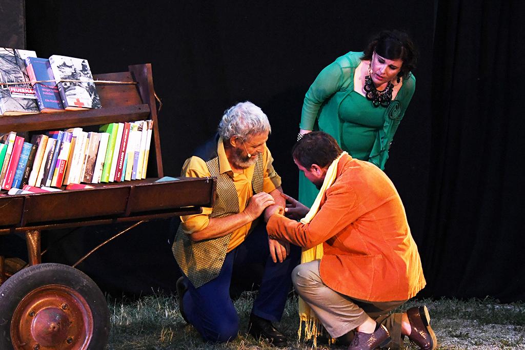 Meraner Festspiele - Luis Zagler 2021 - Im Bild Horst Ortler u. Karin Lintner u. Paul Tappeiner - Foto Stephan Pircher_PRX_4624