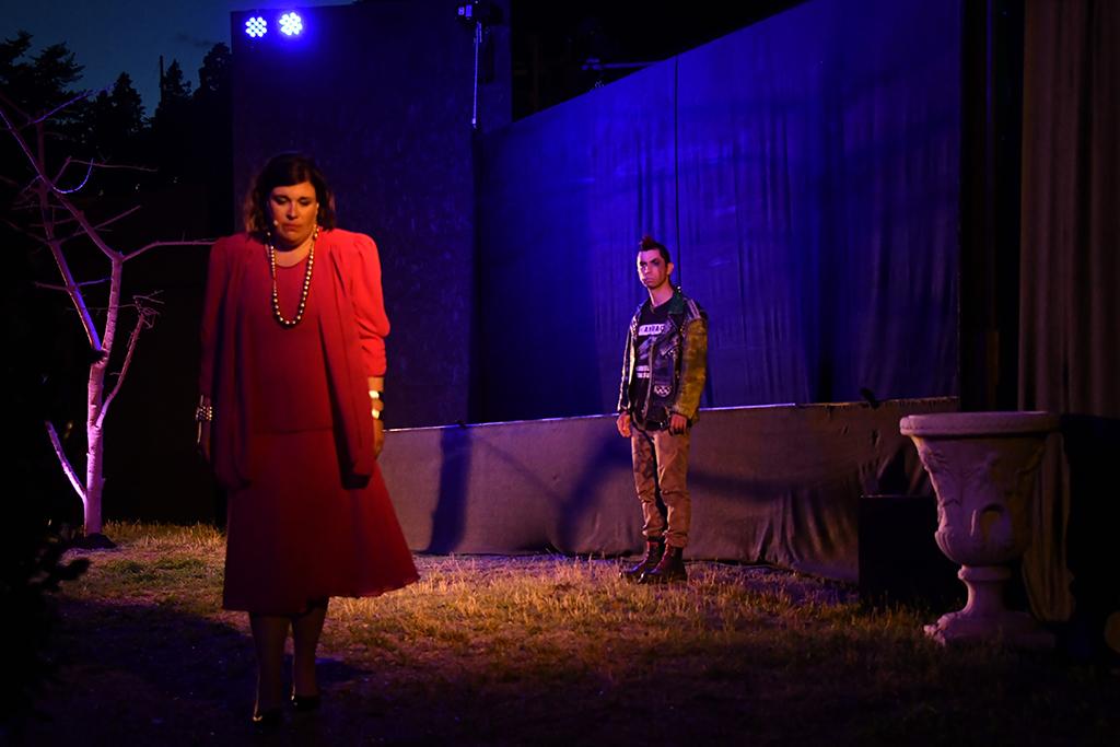 Meraner Festspiele - Luis Zagler 2021 - Im Bild Kartin Lintner und Max Tschager - Foto Stephan Pircher_PRX_9774