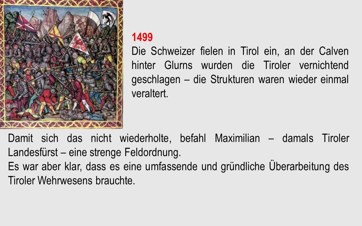 Schlacht an der Calven 1499 Folie 12