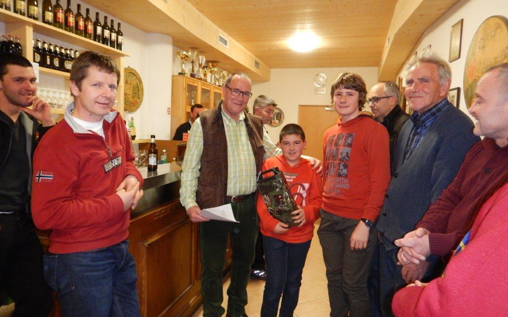 2015_Dorf Tirol_Freundschaftsschießen Fünfter Gruppe B Dorf Tirol