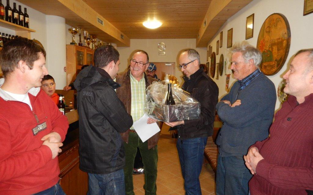 2015_Dorf Tirol_Freundschaftsschießen Sieger Gruppe A Schenna