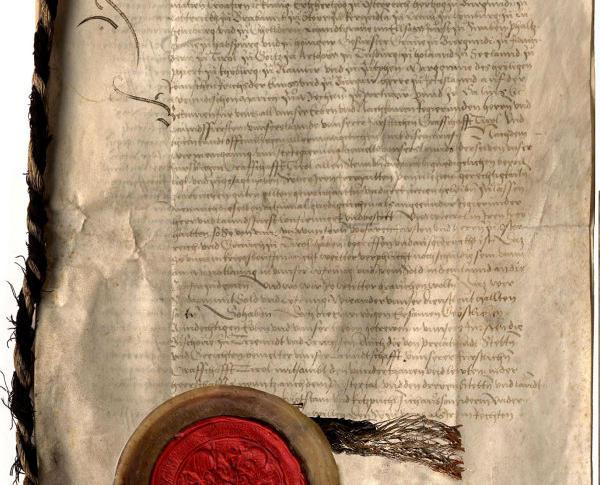 bild6_Landlibell Titelseite und Siegel 1511 Geschichte