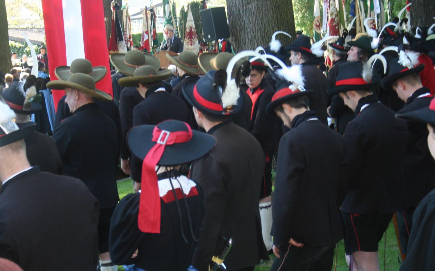 2015_Meran_Bezirk Gedenkfeier Soldatenfriedhof 24