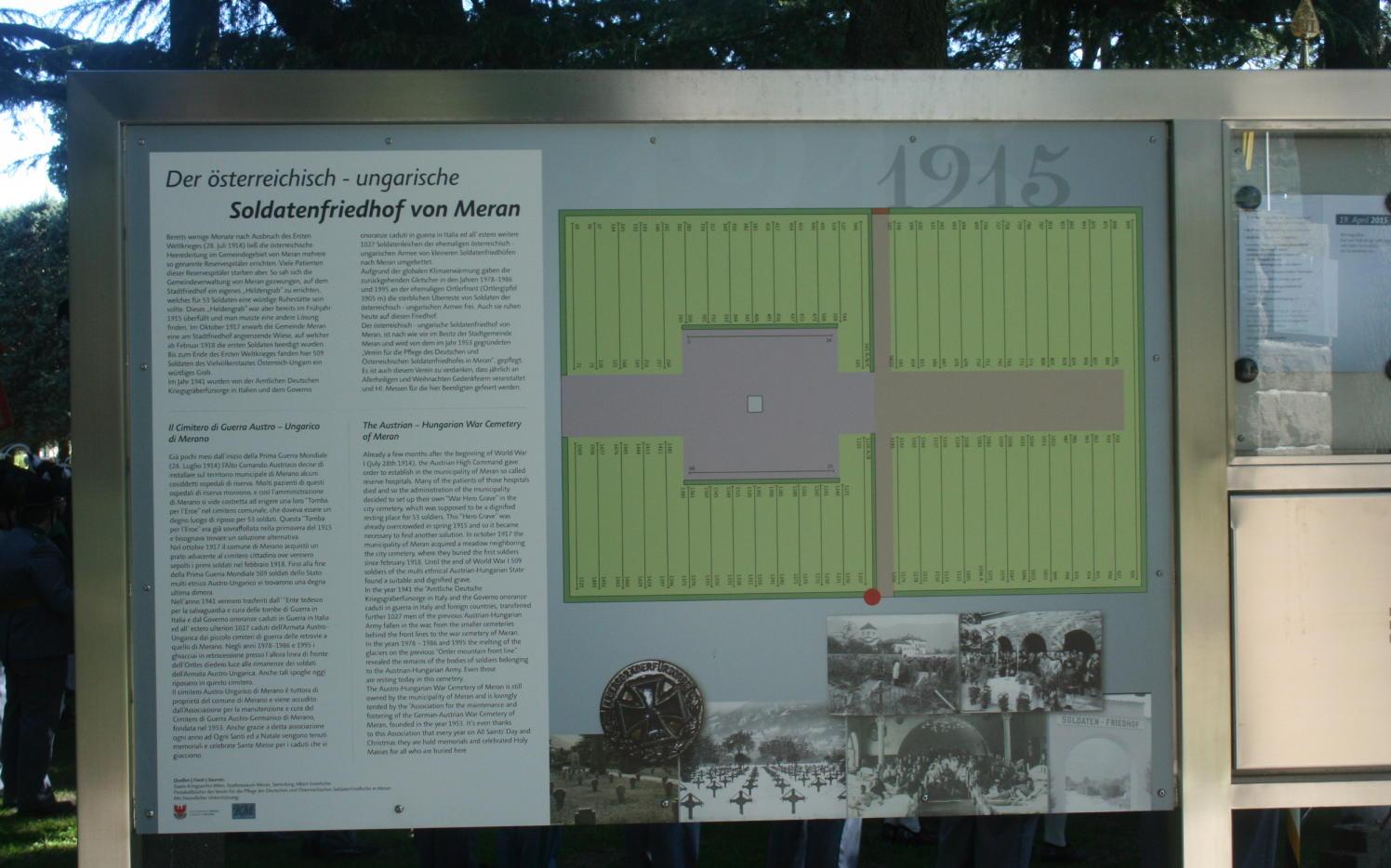 2015_Meran_Bezirk Gedenkfeier Soldatenfriedhof 25