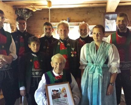2015_St.Walburg_Ehrung 90 Jahre Josef Schwienbacher Gfölln Sepp