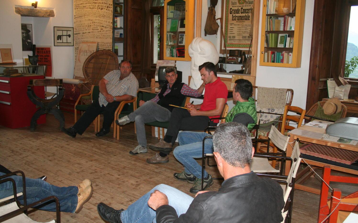 2014_Brunnenburg Dorf Tirol Bezirk_Bezirksklausur Offen Gredt 2