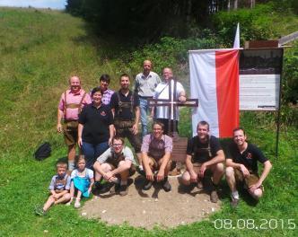 2015_Burgstall Welschtirol_Gedenken an der Front Sebastian Cherle (1)