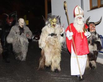 Advent im Stubaital Nikolaus Krampus Tuifl