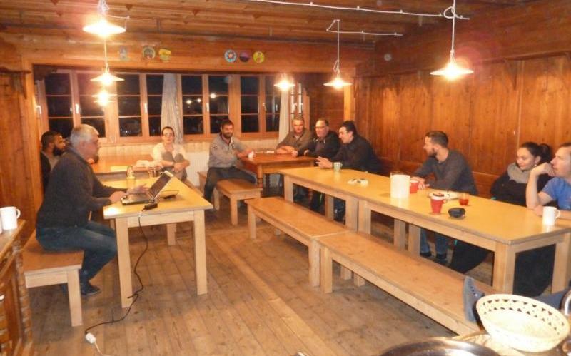 2016_Vigiljoch Lana Bezirk_Bezirkslehrgang Neumitglieder Seminar Fortbildung Burggrafenamt Passeier 007