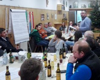 2016_Bezirk Bozen_Sitzung Bezirksgremien vier Schützenbezirke 02