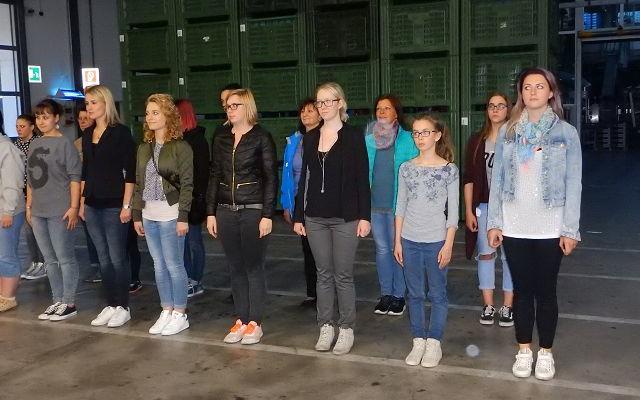 2017_Algund_Marketenderinnen Tamperer Bezirksleitung Exerzieren (7)