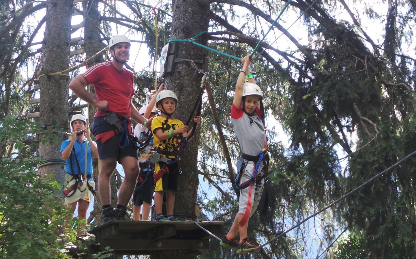 Kletterausrüstung Naturns : Abenteuer hochseilgarten burggrafenamt online
