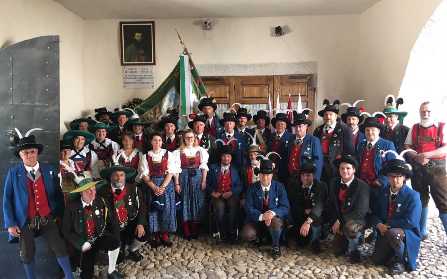 2017_Sankt Romedius Nonstal Nonsberg_Landesublicher Empfang San Romedio 07