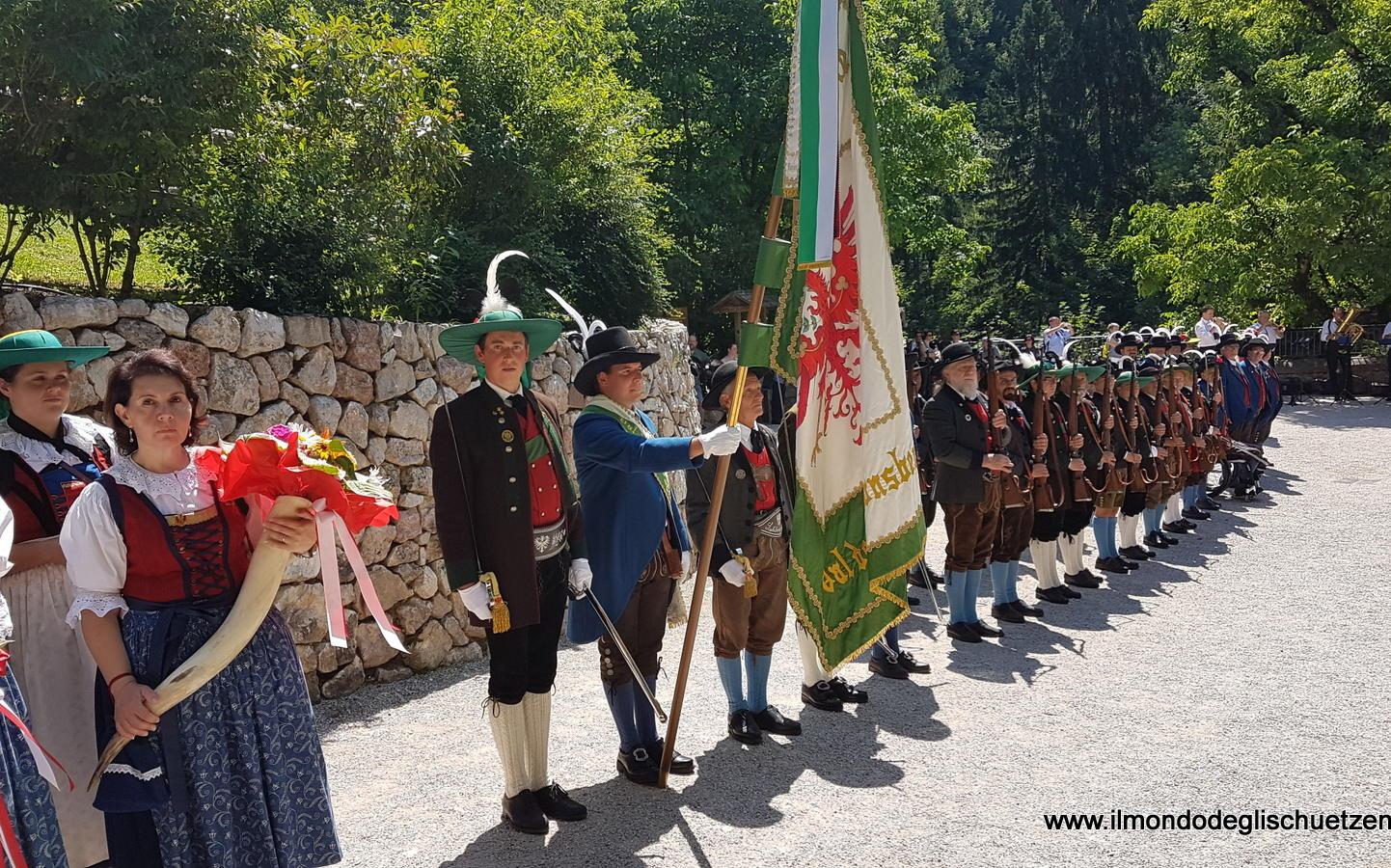2017_Sankt Romedius Nonstal Nonsberg_Landesublicher Empfang San Romedio 04