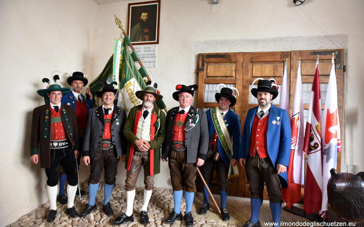 2017_Sankt Romedius Nonstal Nonsberg_Landesublicher Empfang San Romedio 12