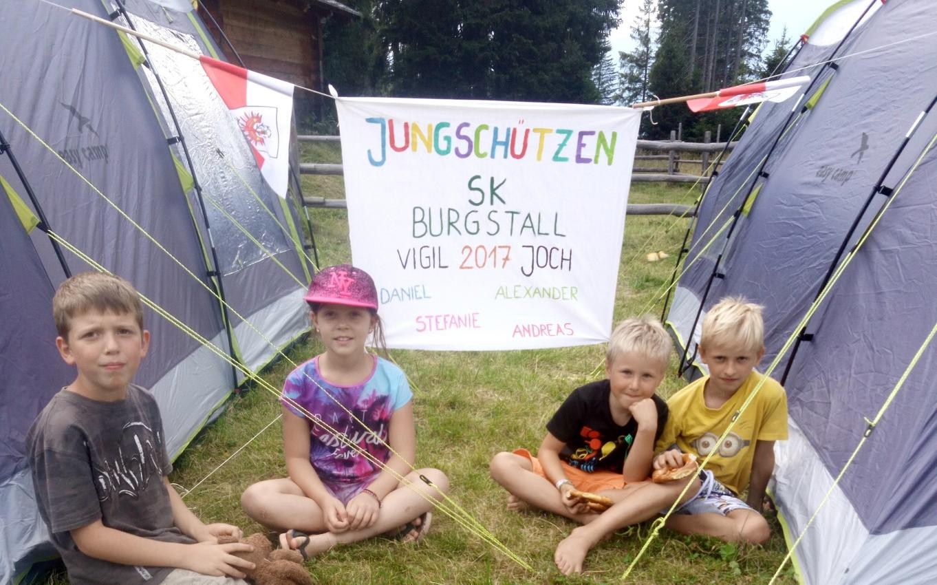 2017_Burgstall Lana Vigiljoch_Sk Burgstall Jungschützen Zeltlager (1)