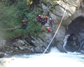 2017_Partschins_Canyoning 3