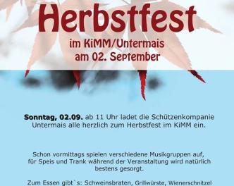 Herbstfest Untermais 2018