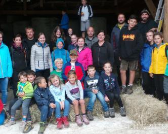 2018_Taufers Bezirk_Jungschützenzeltlager in Taufers im Münstertal