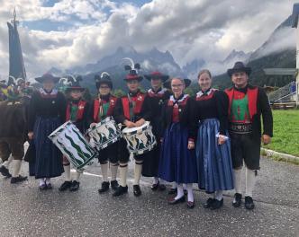 2018_Sexten Bezirk_Gesamttiroler Jungschützentreffen Gruppenfoto