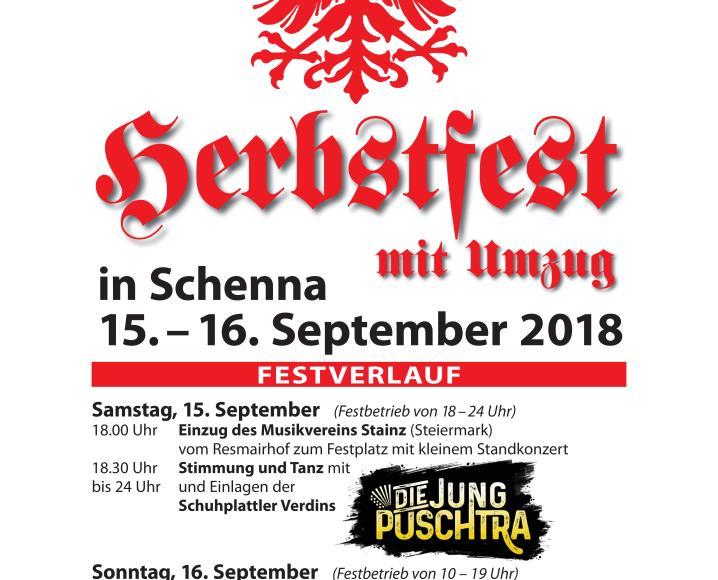 Herbstfest 2018 - Flugblatt 1