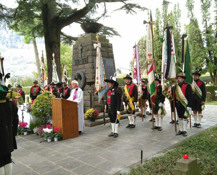 2018_Meran Bezirk_Gefallenengedenkfeier Soldatenfriedhof