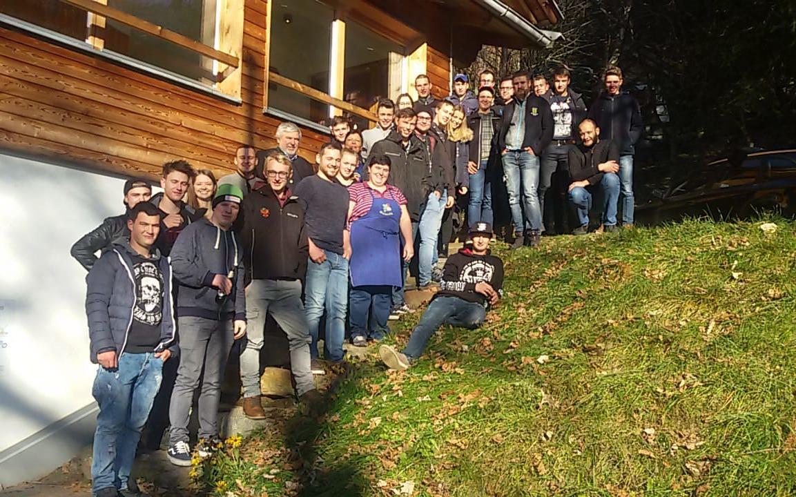 2018_Moos i.P. Bezirk_Bezirkslehrgang Neutmitgliederseminar Gruppenfoto 04