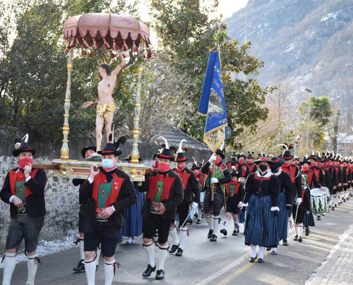 2021_Lana_Jahreshauptversammlung Sebastiani Sebastiani Prozession