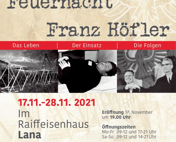 Franz Höfler Ausstellung 60 Jahre Feuernacht